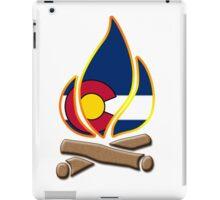 Colorado Campfire iPad Case/Skin