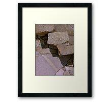 Blocky Framed Print