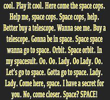 Wanna Go To Space. by Kali Opal
