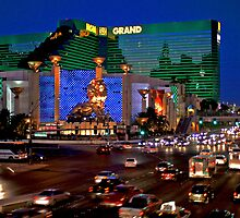Las Vegas MGM Casino Hotel by Tom-Sky