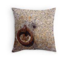 Ring Rock Throw Pillow