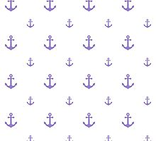 Lavander Anchors by ImageNugget