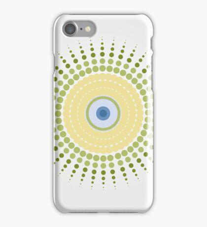 burst eye iPhone Case/Skin