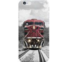 color train iPhone Case/Skin