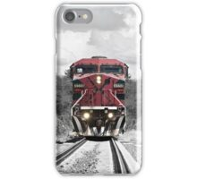 color train iPhone Case/Skin