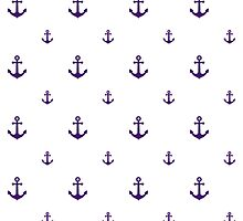 Purple Anchors by ImageNugget