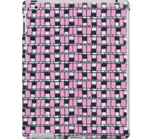 80 windows abstract retro pattern iPad Case/Skin