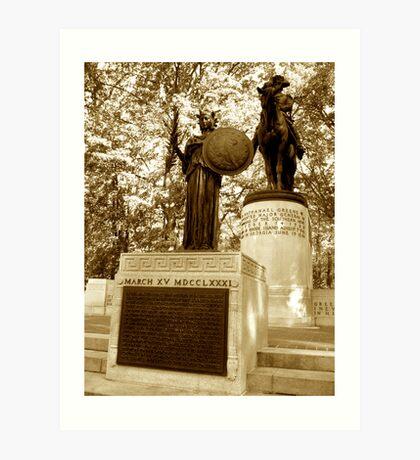 Major General Nathanael Greene Monument Art Print
