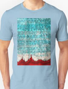 Tufas in the Mist original painting T-Shirt