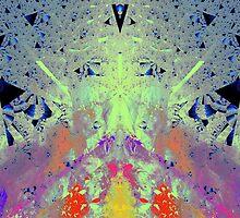 'Monet Meets Picasso in Dimension 2.7' by Scott Bricker