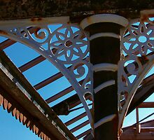 Wrought Iron Decorative Detail by Orla Cahill Photography