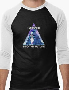 Forward Into the Future Men's Baseball ¾ T-Shirt