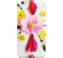 Wild Rose and Floral Mandala iPhone Case/Skin