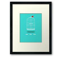 love cage Framed Print