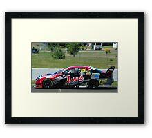 V8 supercar.13 Framed Print