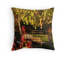 Boeger Winery Picnic Throw Pillow