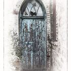 Church door by Jan Pudney
