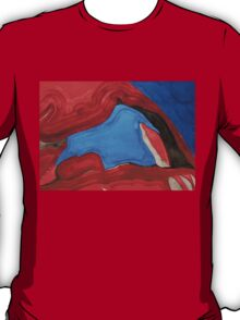 Arch Rock original painting T-Shirt