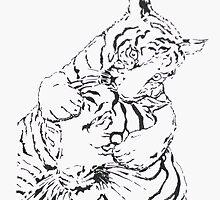 Tigerx2 by Kathy Newton