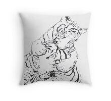 Tigerx2 Throw Pillow