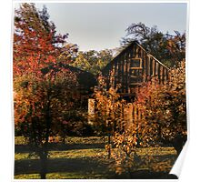 Boeger Winery Barn Poster