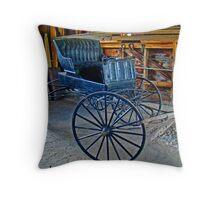 Your Chariot Awaits Throw Pillow