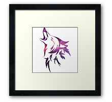 Howl With the Moon Framed Print