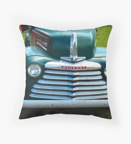 Old Merc II Throw Pillow