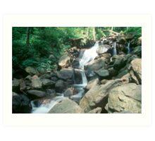 n.c waterfall Art Print