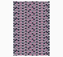 80 windows abstract retro pattern Kids Clothes