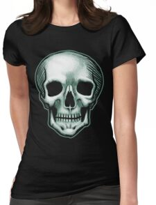The Best Skull in the World, EVER! (dark) Womens Fitted T-Shirt