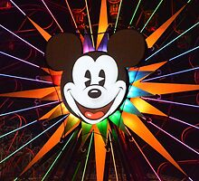 Walt Disney Mickey Mouse Lights Up by notheothereye