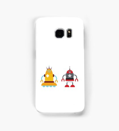 robot love in color Samsung Galaxy Case/Skin