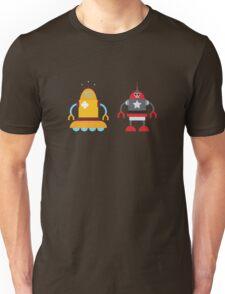 robot love in color Unisex T-Shirt