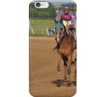 Racing horse  iPhone Case/Skin