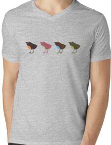 birds Mens V-Neck T-Shirt