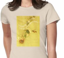 Spring Treasure Womens Fitted T-Shirt