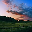 Colorful Mountain Sunset by NancyC