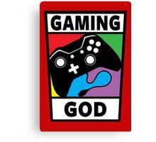 Gaming God Canvas Print