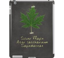 Silver Maple Leaf iPad Case/Skin
