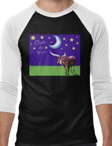 Over the Moon Men's Baseball ¾ T-Shirt