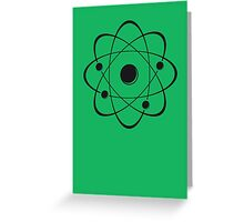 atoms Greeting Card