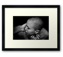 last caress Framed Print