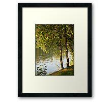 By The Seine Framed Print