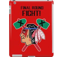 Nightwolf fights for the Hawks iPad Case/Skin