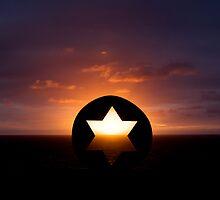 Sculptured Sunrise by Milton Gan