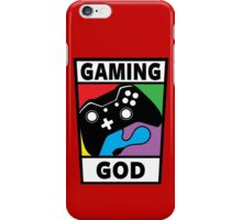 Gaming God iPhone Case/Skin