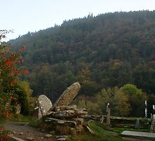 Old Tombstones/Glendalough [Please View Larger]No3 by Pat Duggan