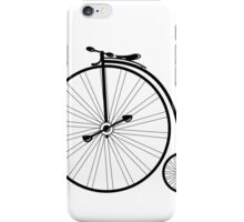 vintage bike  iPhone Case/Skin