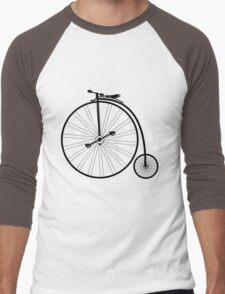 vintage bike  Men's Baseball ¾ T-Shirt
